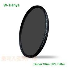 WTIANYA 105mm CPL Filter PL-CIR Polarizing Filter for DLSR 105mm lens for Nikon Canon Pentax Sony DSLR Camera