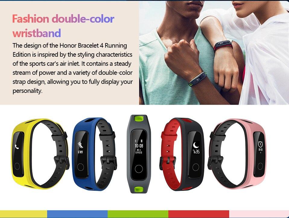 Presale Original Huawei Honor Band 4 Running Version Touchscreen Smart Wristband (5)
