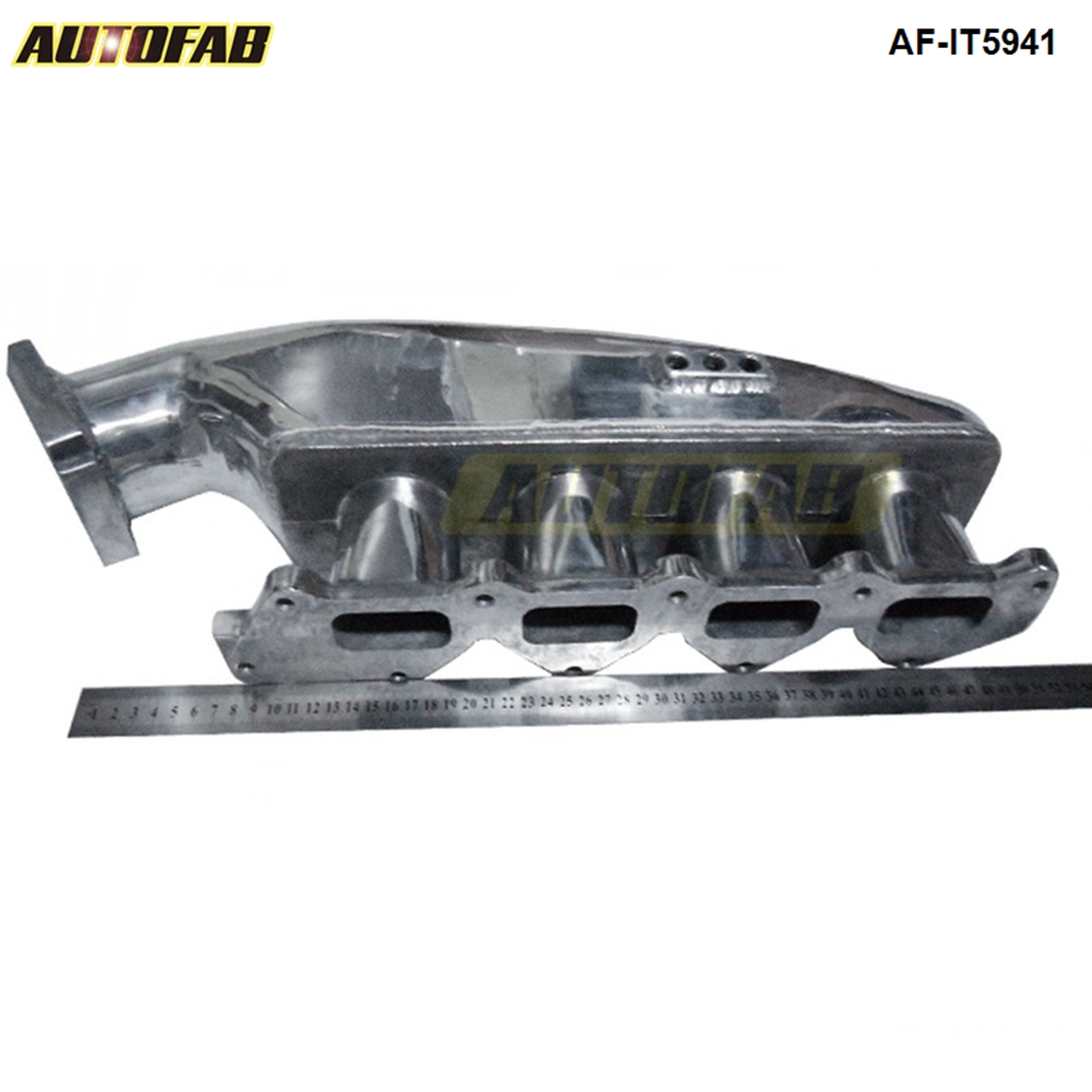 US $79 8 5% OFF|Polished Cast Aluminum Turbo Intake Manifold For MITSUBISHI  EVO 1 3 Jdm high Performance AF IT5941-in Intake Manifold from Automobiles