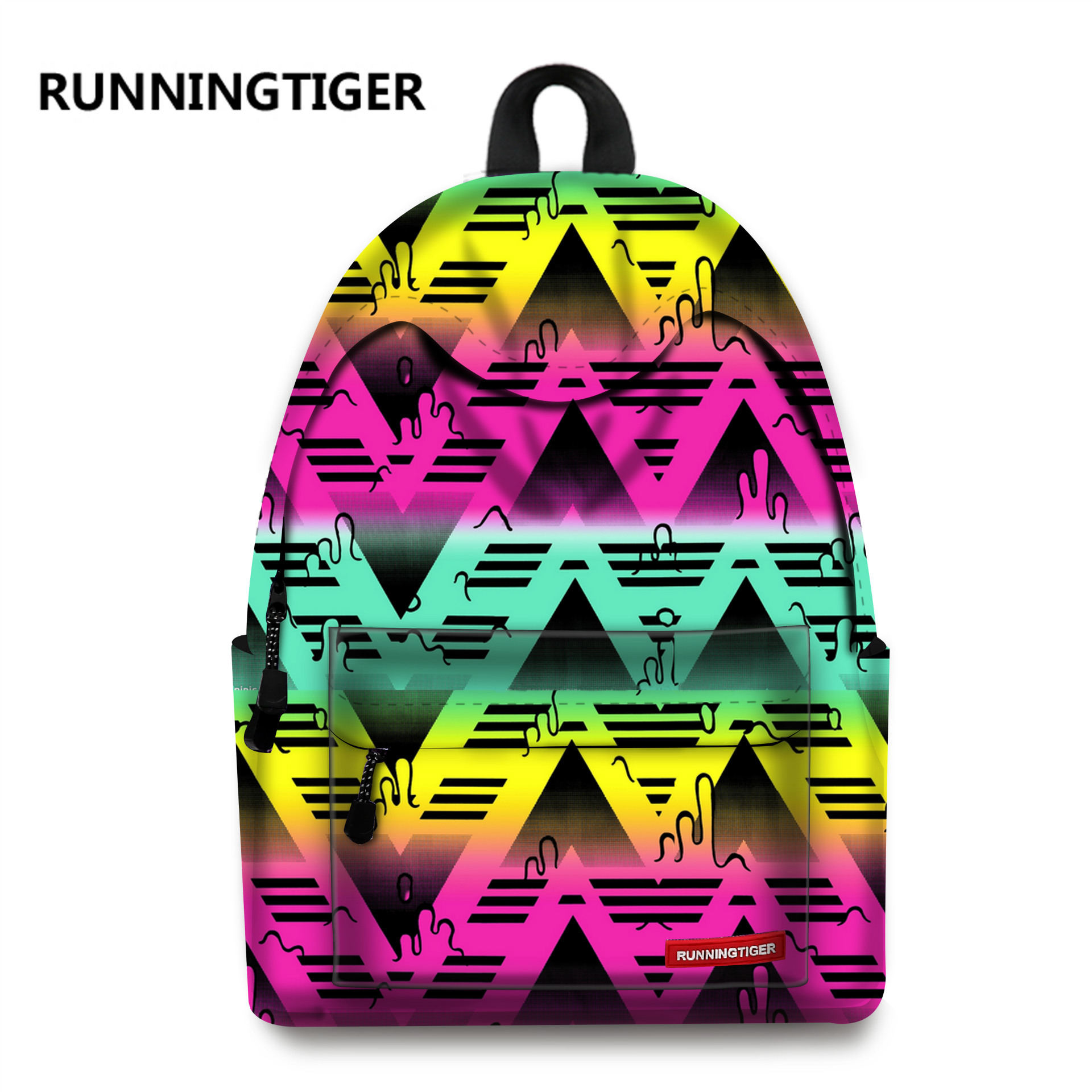 Women Printing Backpack 2017 New School Bags For Teenager Girls Dream bag diary school bag mochila feminina Backpacks space