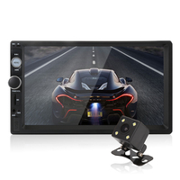 2 Din Car Radio 7 HD Player MP5 Touch Screen Digital Display Bluetooth Multimedia USB 2din