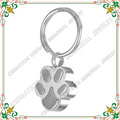 Keychain CMK2019 Stainless Steel Cat Dog Paw Pet Urn Key chain Keepsake Ashes Holder Cremation Jewelry