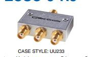 [BELLA] Mini-Circuits ZCSC-3-R3 2-300MHZ Three SMA Power Divider