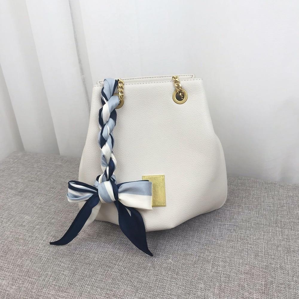 Kafunila genuine leather bag women shoulder bucket bag luxury handbags designer famous brand crossbody bag clutch bolsa feminina