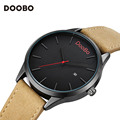Men Watches Top Brand Luxury Watch Men DOOBO Fashion Watch Leather Men's Quartz-watch Wristwatch relogio masculino