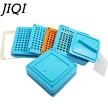 JIQI 100 отверстий машина для ручного наполнения капсул#00 фармацевтических капсул Производитель DIY лекарств травяные таблетки порошок Наполнитель Размер 00