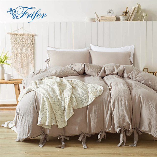 New Arrivel Tie Knots Bedroom Bedding Sets Bed Quilt Sheets Set Bedclothes Duvet Cover Bedspread With Pillowcase US Size
