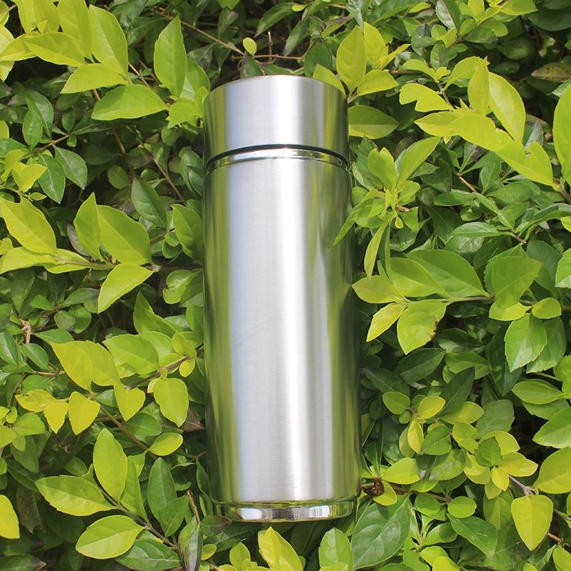 Silver Portable Alkaline Water Ionizer Bottle With