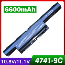 9 Cell  laptop battery for Acer Aspire 5750ZG 5755 5755G 5755Z 5755ZG 7251 7551 7551G 7551Z 7551ZG 7552G 7560 7560G 7741 7741G