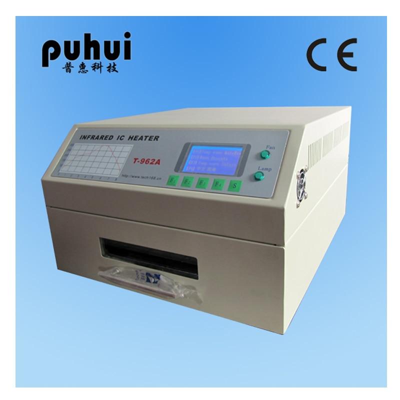 PUHUI T 962A Infrared IC Heater T962A Desktop Reflow Oven BGA SMD SMT Rework Sation T