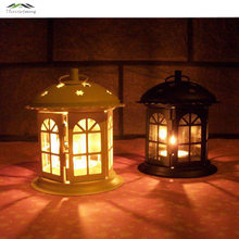 Metal Bird Cage Wedding Candle Holder Lantern Morocco Vintage Small Lanterns For Candles Decorative Cages Moroccan Lamp 020(China)