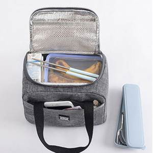 Adisputent Pouch Lunch-Bags Picnic Waterproof Insulated Food-Accessories Dinner Unisex