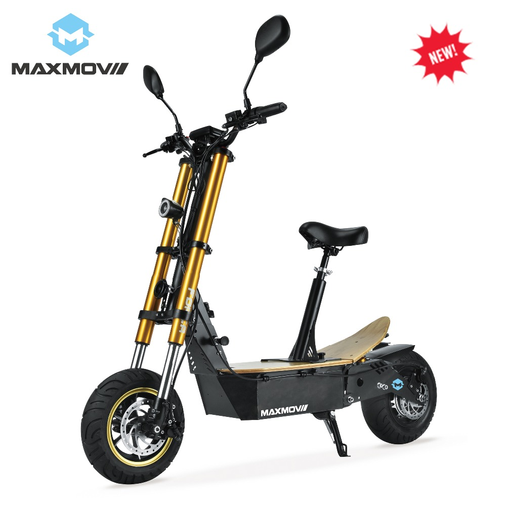 2019 nouvelle mise à jour 2000 W 48 V e-mark Scooter électrique avec deux grandes roues de gros pneus