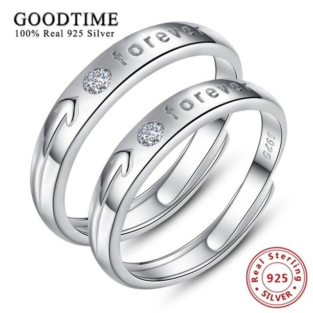 Silber ringe paar ringe