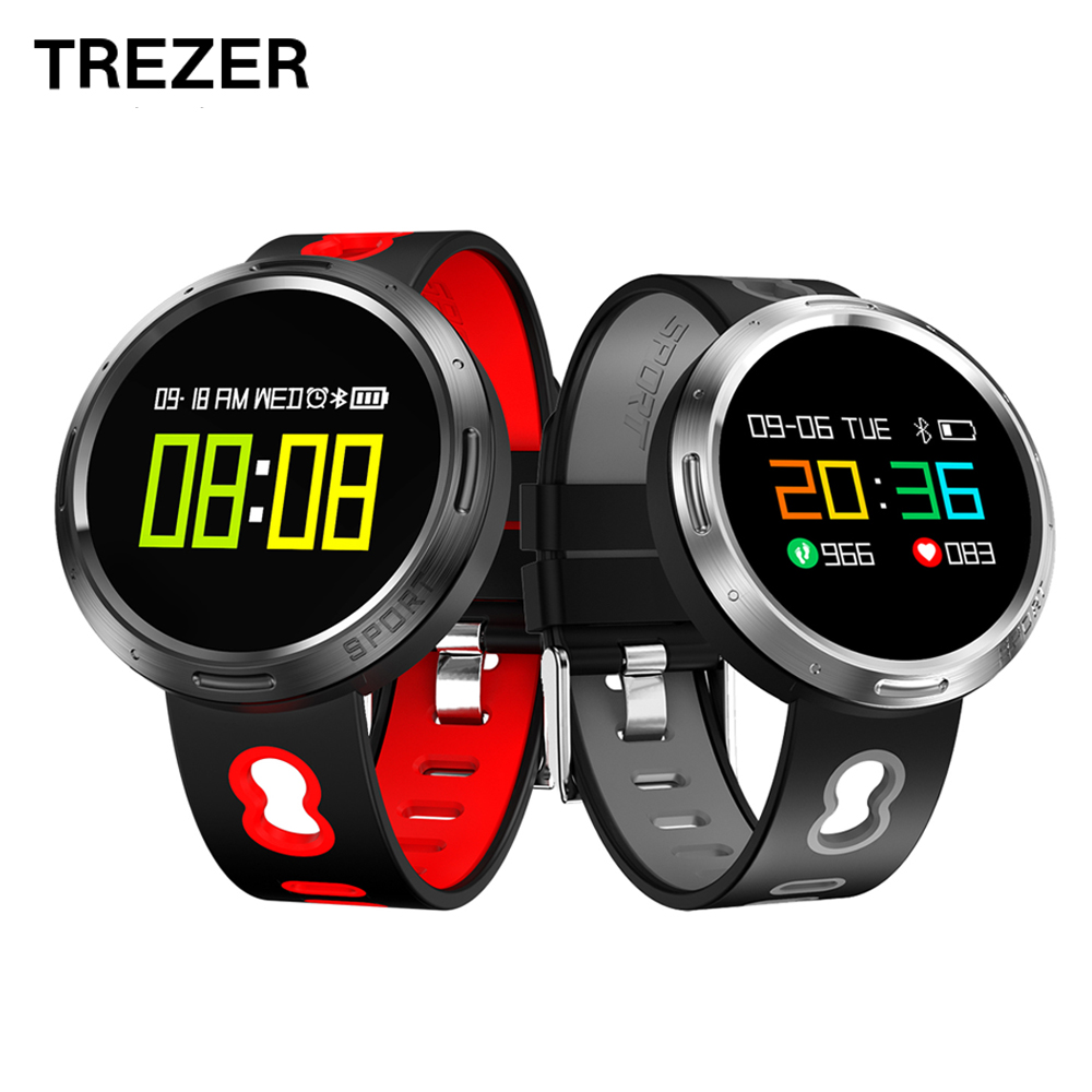 TREZER X9-VO OLED Color Screen Smart Band Anti-lost IP67 Waterproof Blood Pressure/Oxygen Heart Rate Miontor Smart Wristband