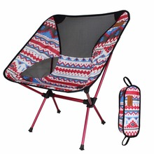 New Arrival Picnic BBQ Beach Outdoor Foldable Chair Camping Folding Chair Portable Fishing Chair with Carry Bag
