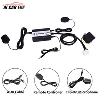 Handsfree Bluetooth A2DP Car MP3 Adapter AUX USB Music Charging Car Kit For Mazda 2 3 5 CX7 RX8 MPV Car Stereo Radio Interface