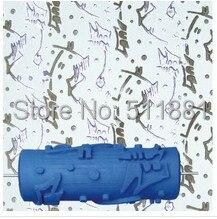 5 ''ncctec płynne tapety rolki druku narzędzia darmowa wysyłka | 125mm płynne tapety wzorzyste papier formy do malowania ścian rolki