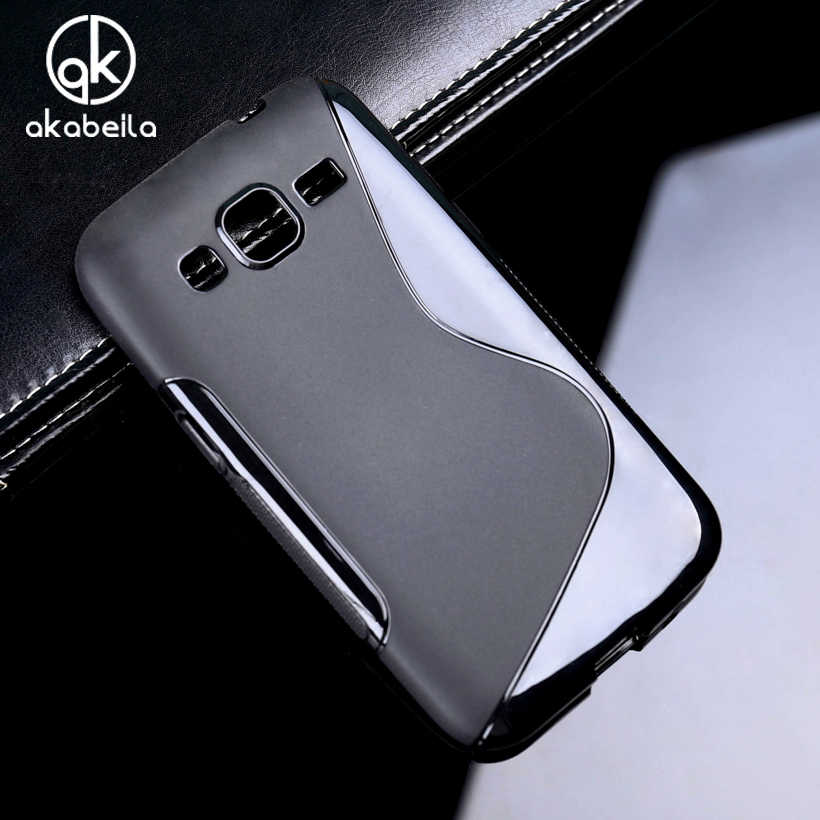AKABEILA Silicon Covers Cases For Samsung Galaxy Core Prime G361 Win 2 Duos TV G360BT G360F G360H G360T G360G G360 G3606 Bag