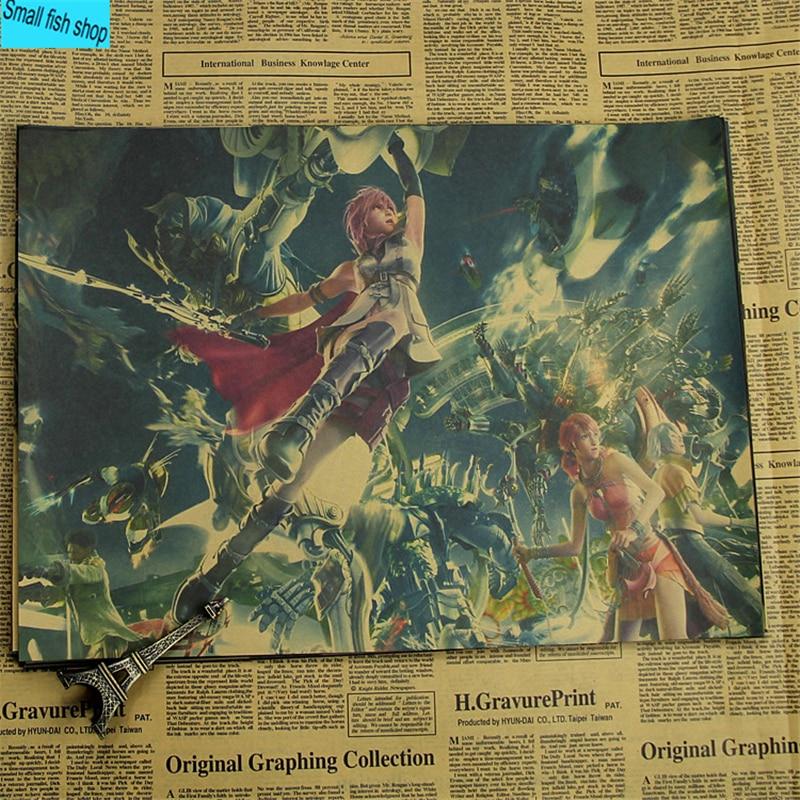 Қорытынды фэнтези-ойын-сауық плакаты - Үйдің декоры - фото 2