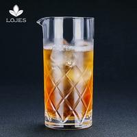 700 мл японский Стиль чашки с коктейльным бокалом Бармен Коктейль чашки кристалл Стекло тумблер для виски Drinkware Diamond с коктейльным бокалом