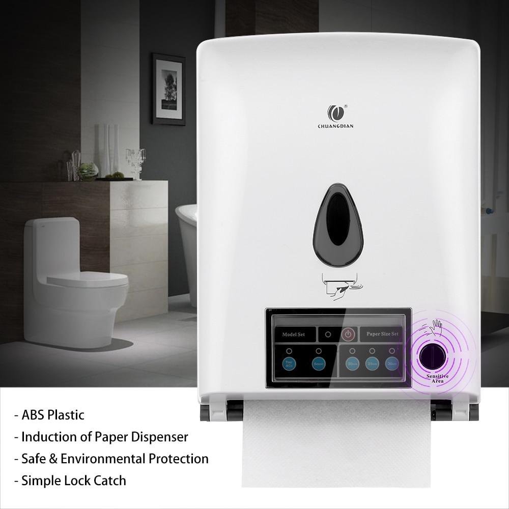 Automatic Paper Towel Dispenser ~ Automatic sensor roll paper towel dispenser wall mount