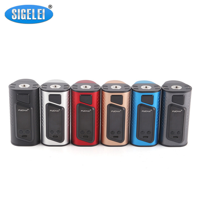 Sigelei Fuchai Duo 3 Mod Electronic Cigarette Vape Mod Use Dual or Three 18650 175W 255W 510 Box Mod Support VW TC TCR Modes sigelei fuchai 213 mod newest 100