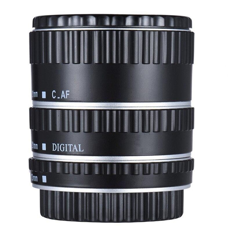 Tubo de extensión macro de enfoque automático 13/21/31MM para lente de cámara Canon EF EF-S