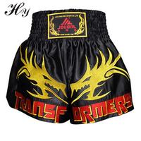 2016 Top Quality Brand Boxing Shorts Trunks Mens Men Training Short Pants Fighting Competition Muay Thai Sanda Fighting Shorts