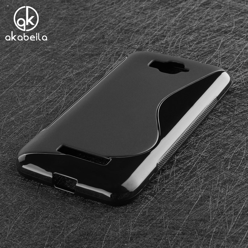AKABEILA Fitted Case For Alcatel One Touch Pop C7 Dual SIM 7040D 7041D 7040E 5.0 inch Cell Phone Shell Bags Silicon