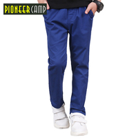 PioneerKids New Classic Children Pants Boys Spring Autumn Clothes Cotton And High Quality Boys Pants Baby