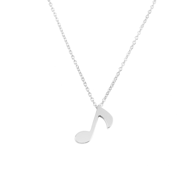 Smjel new fashion delicate musical note pendant necklace for women smjel new fashion delicate musical note pendant necklace for women love music note symbol charm necklace aloadofball Choice Image