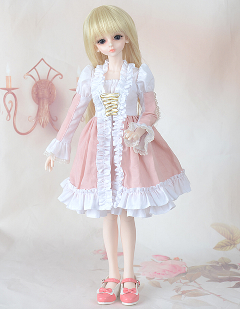 New Arrival 1/3 1/4 1/6  BJD Doll SD Clothes Dress For Bjd Lovely Clothes Girl Gift Free Shipping