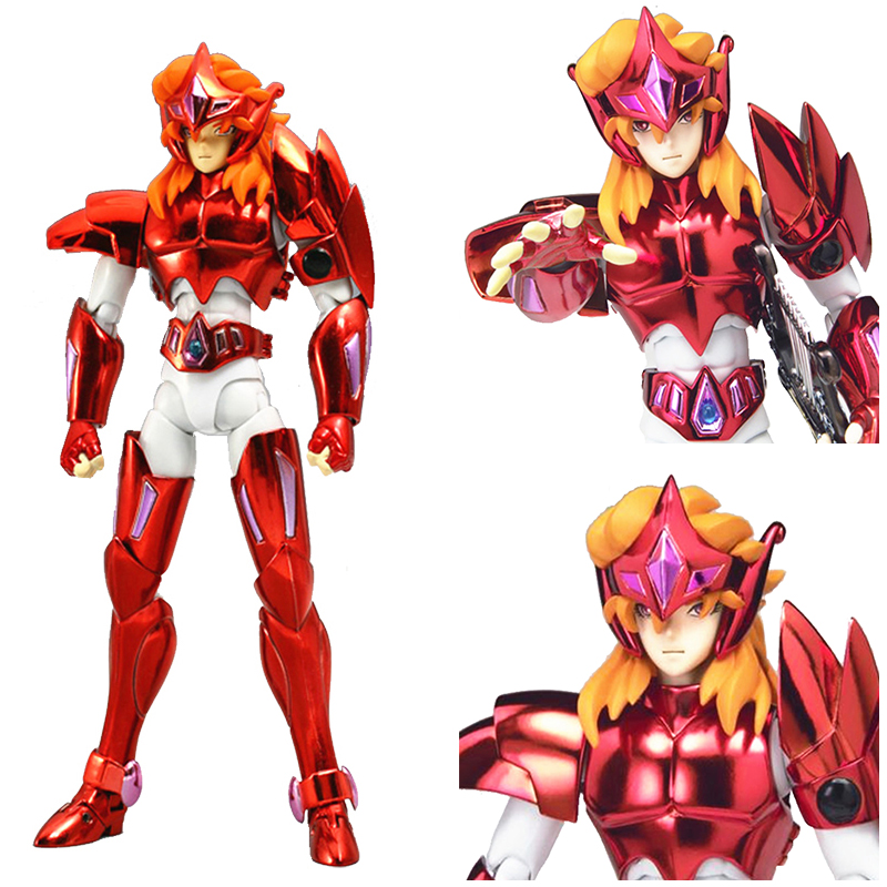 Anime Action Figure Saint Seiya Myth Cloth Nordic God Fighter Alkaid red Meem Metal Armor Collectible Model myth cloth anime figure model saint seiya pegasus tenma v1 metal armor action figures for collections