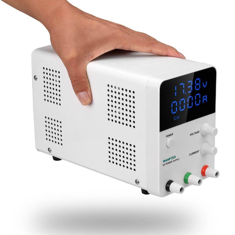 Wanptek ajustable fuente de alimentación dc GPS3010D Variable 30 V 10A regulado el módulo de potencia de conmutación Digital de laboratorio de la fuente de alimentación - 3