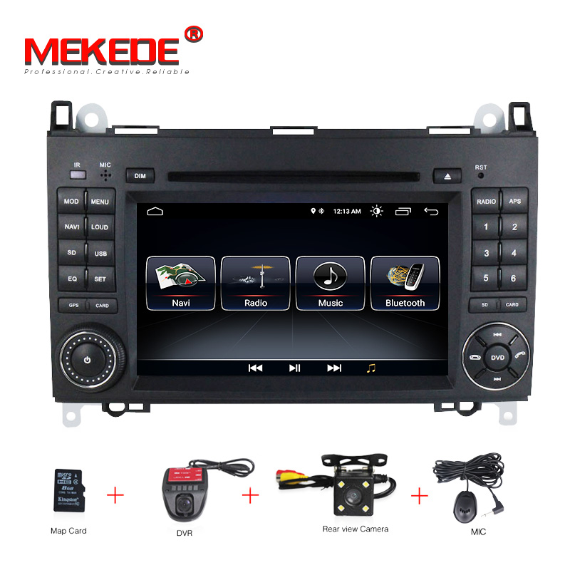 Free shipping Android 8.0 Car dvd player radio GPS Navi for Mercedes Benz B200 A B Class W169 W245 Viano Vito W639 Sprinter W906-in Car Multimedia Player from Automobiles & Motorcycles