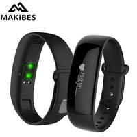 Makibes M88 Smart Band Bracelet Watches Blood Pressure Heart Rate Monitor Pedometer Sleep Monitor Bluetooth Fitness