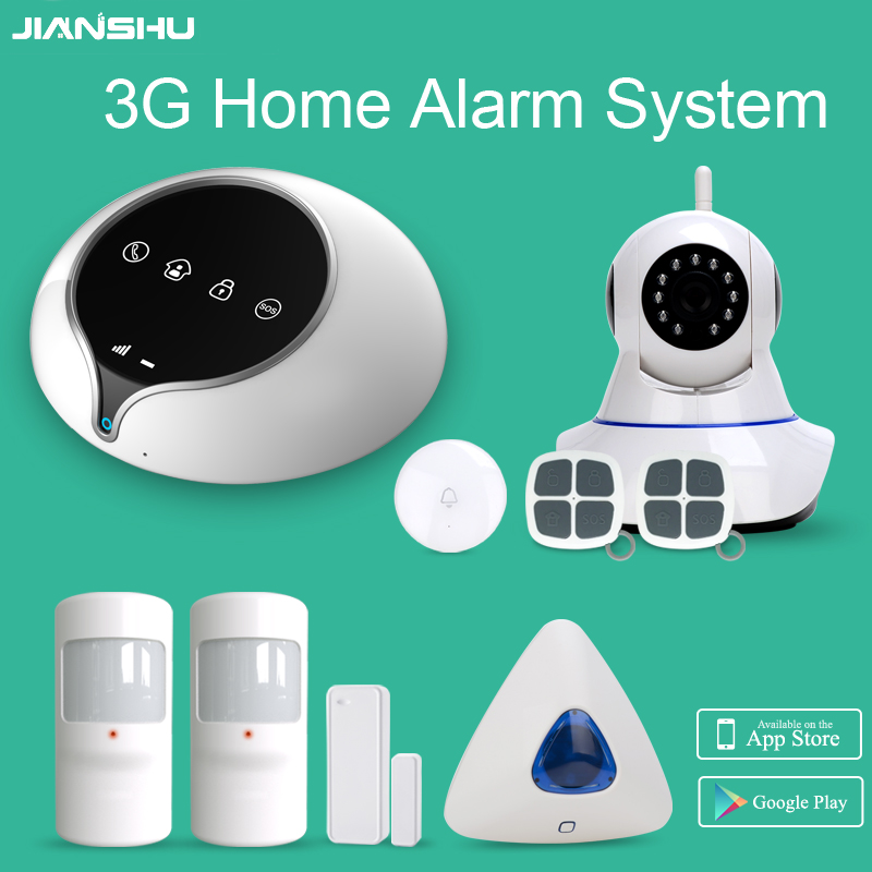 The best sell 3g home alarm system with wireless indoor for Smart home alarm system