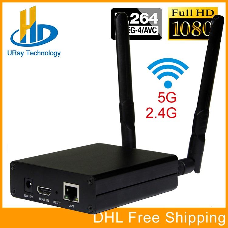 DHL Free Shipping MPEG-4 AVC H.264 WIFI HDMI Video Encoder HDMI Transmitter Live Broadcast Encoder Wireless H264 IPTV Encoder niorfnio portable 0 6w fm transmitter mp3 broadcast radio transmitter for car meeting tour guide y4409b
