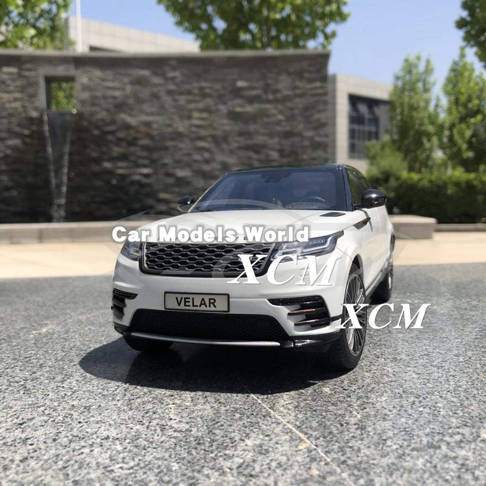 Diecast Car Model for LCD Velar 1 18 White SMALL GIFT