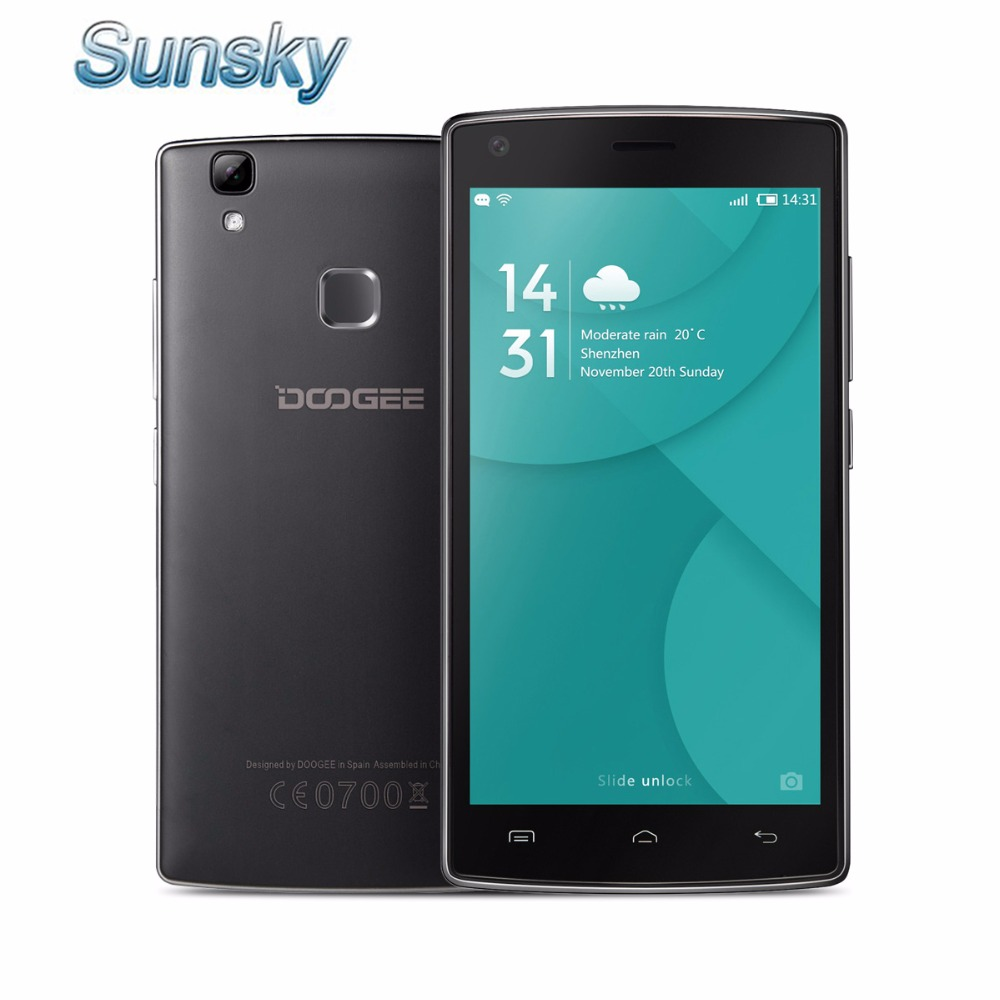 Original Doogee X5 MAX Pro 4G LTE Smartphone 5 0 Android 6 0 MTK6737 Quad Core