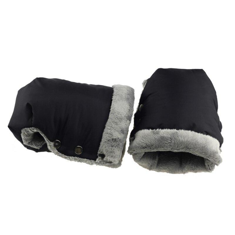 Winter Warm Stroller Gloves Kids Pushchair Hand Muff Waterpr