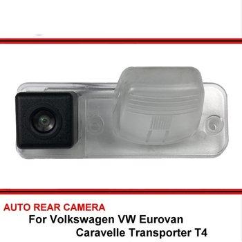 Dla Volkswagen VW Eurovan Caravelle Transporter T4 HD CCD Parking samochodowy cofania widok z tyłu kamera Night Vision tanie i dobre opinie Boqueron CN (pochodzenie) Szkło wireless Drutu ACCESSORIES Pojazd backup kamery Z tworzywa sztucznego Car Rearview Back up Vehicle Parking Reverse Backup Rear View Camera