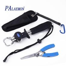 PALAEMON Portable Fish Grip Lip Fishing Scissors Pliers 15KG/33LB stainless steel multifunction pliers mastering set