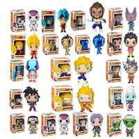Funko Pop Dragon Ball SUPER SAIYAN GOKU coleccionable modelo juguetes FRIEZA gran VEGETA APE figura de acción niño juguete