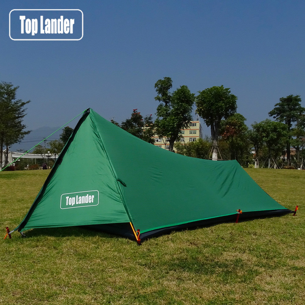 A Tower Ultralight Tent 1 Person for Camping Hiking Mountain Backpacking Waterproof Single Bivvy Tent 3