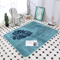 New Lovely Solid Leaf Soft Big LivingFloor Mats Anti skid Carpet Kid Room Decoration Carpets Are Rugs Children Crawling Play Mat