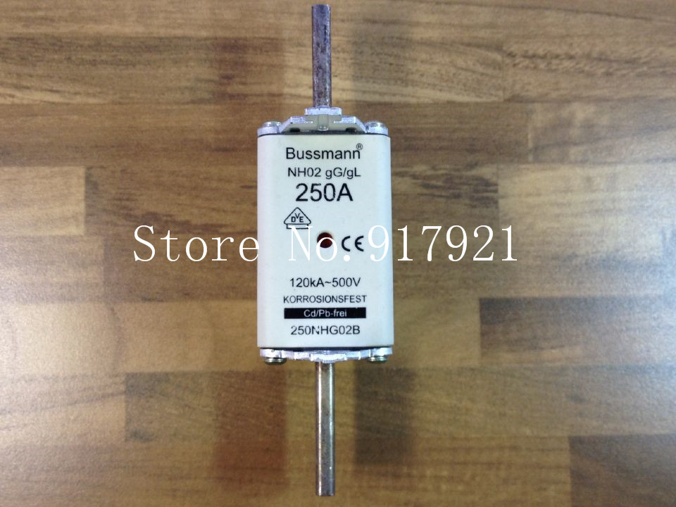 цена на [ZOB] The United States Bussmann NH02 gG/gL 250A BUSS 250NHG02B 500V fuse fuse --2pcs/lot
