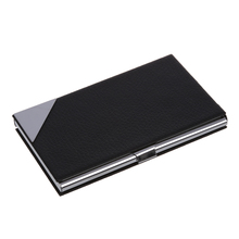 Buy business card organiser and get free shipping on aliexpress business name card holder box credit card case folder organiser office school supplies with mirror reheart Image collections