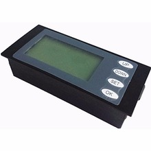 20A AC Digital Voltmeter LED Panel Power Meter Monitor KWh Time Watt Volt Ammeter Tester Tools